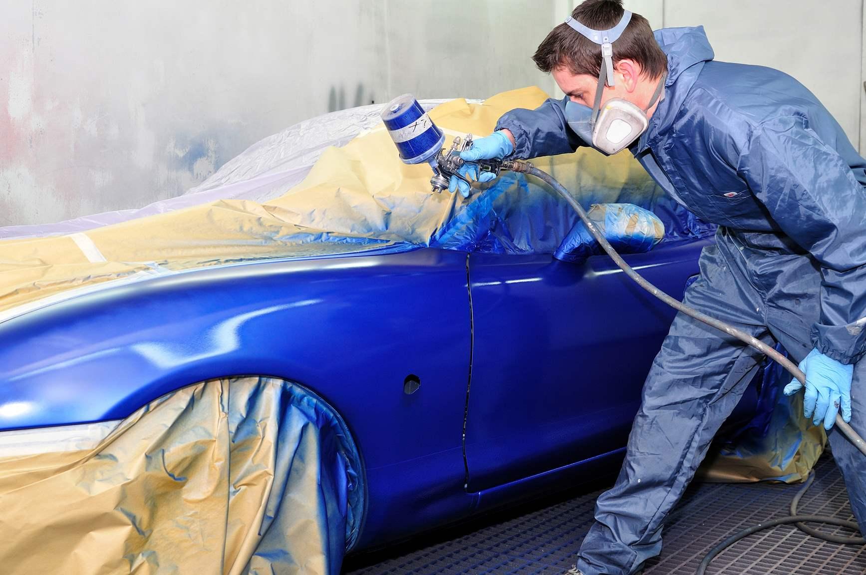 Полировка авто покраска