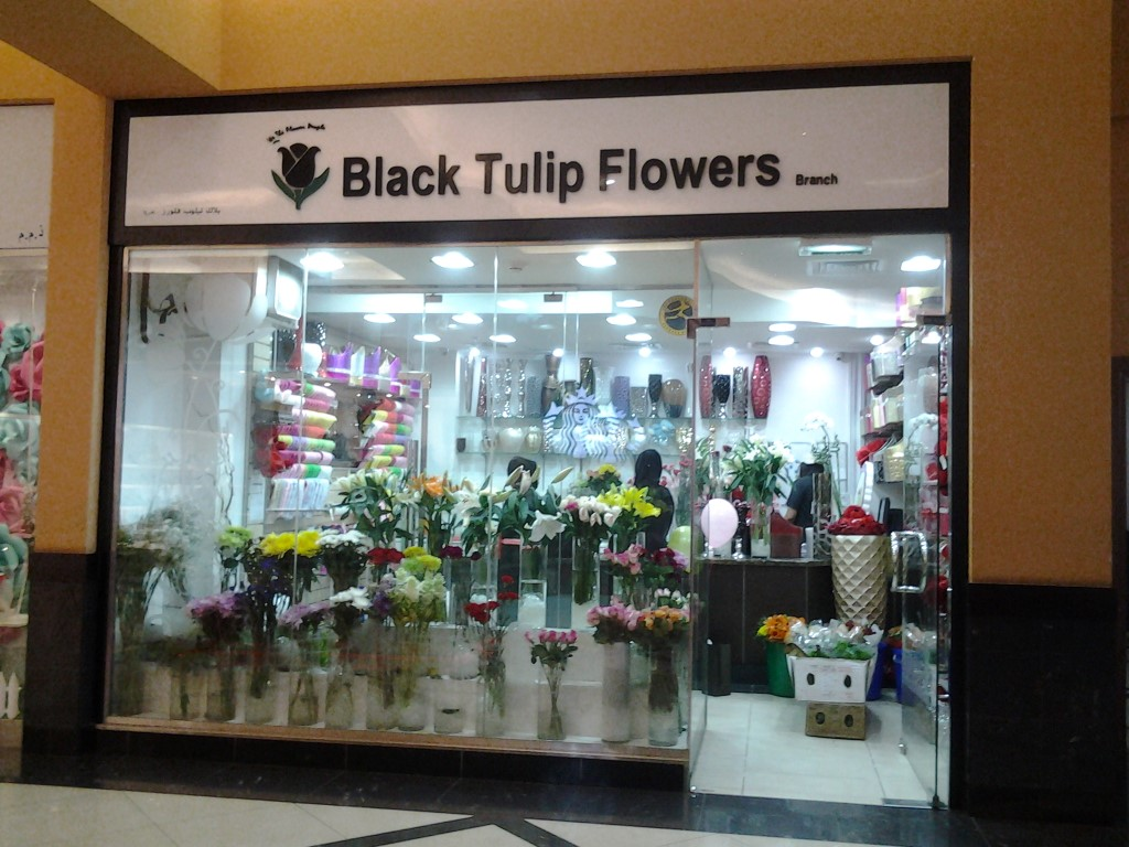 Black Tulip Flowers