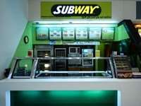 Subway in Mall Of the Emirates