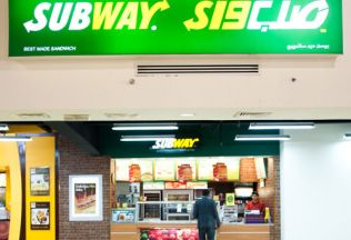 Subway in Dubai Outlet Mall
